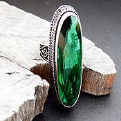 р.18 Серебряное кольцо с кварцем