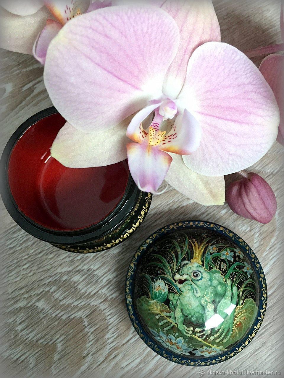 The frog princess.Miniature jewelry box, Box, Yuzha,  Фото №1