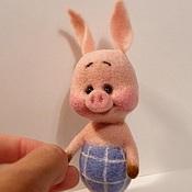 Куклы и игрушки ручной работы. Ярмарка Мастеров - ручная работа Малыш Пятачок. Handmade.