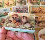 Косметика ручной работы. Ярмарка Мастеров - ручная работа Мыло с фотографией -Пасхальное. Handmade.