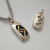 Фен-шуй и эзотерика handmade. Livemaster - original item Amulet yera (silver, gold). Handmade.