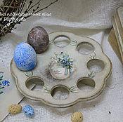 Для дома и интерьера ручной работы. Ярмарка Мастеров - ручная работа Подставка для пасхальных яиц. Handmade.