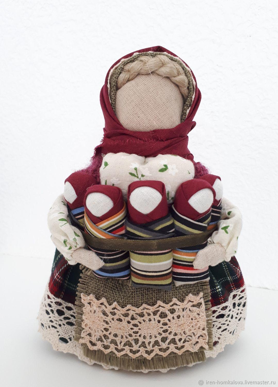 Авторский вариант русской народной куклы `Семья`, Ирины Хомкаловой