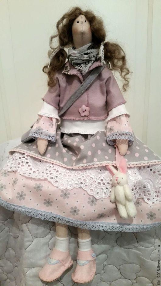 Куклы Тильды ручной работы. Ярмарка Мастеров - ручная работа. Купить Тильда в стиле бохо. Handmade. Разноцветный, трикотаж хлопок
