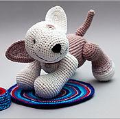 Куклы и игрушки ручной работы. Ярмарка Мастеров - ручная работа Бультерьер. Handmade.