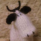 Куклы и игрушки ручной работы. Ярмарка Мастеров - ручная работа Одна очень грустная корова. Handmade.