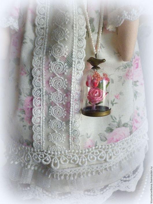 Куклы Тильды ручной работы. Ярмарка Мастеров - ручная работа. Купить Роузи.... Handmade. Бледно-розовый, кукла, девочка