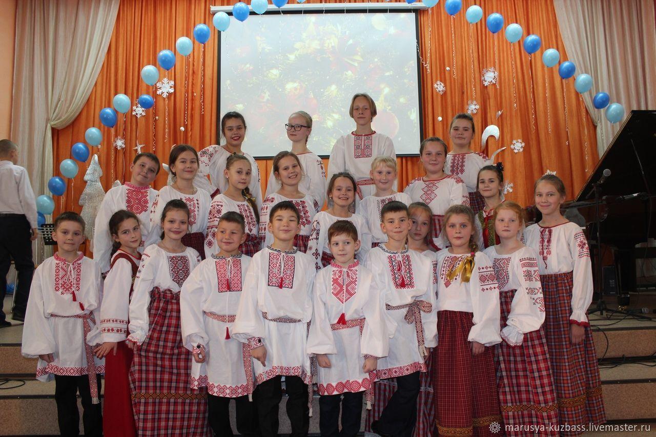Комплект сценического костюма в народном стиле, Народные костюмы, Кемерово,  Фото №1