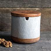 Посуда ручной работы. Ярмарка Мастеров - ручная работа Баночка керамическая. Handmade.