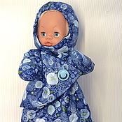 Куклы и игрушки handmade. Livemaster - original item Sleeping bag on the street on the doll. Handmade.