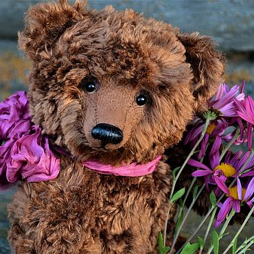 Dolls & toys. Livemaster - original item NESTOR bear with Howler (pattern 1928). Handmade.