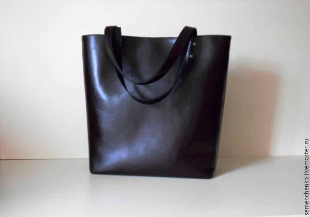 d7734507b7fd Купить Шоппер, сумка- · Женские сумки ручной работы. Шоппер, сумка-пакет из натуральной  кожи, женская сумка ...