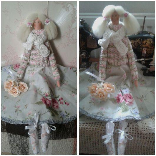 Куклы Тильды ручной работы. Ярмарка Мастеров - ручная работа. Купить Лола. Handmade. Тильда, подарок девушке, интерьерная кукла