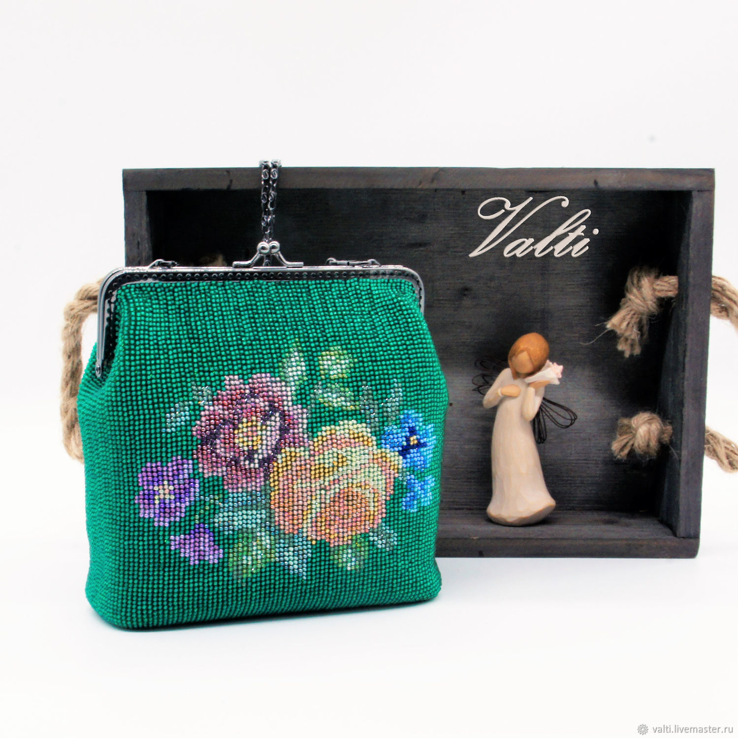 Summer with roses, Crossbody bag, Moscow,  Фото №1