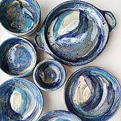 Наборы посуды ручной работы. Ярмарка Мастеров - ручная работа Набор керамической посуды. Handmade.