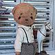 Мишки Тедди ручной работы. Ярмарка Мастеров - ручная работа. Купить Ваня. Handmade. Мишка, тедди медведи, хлопок