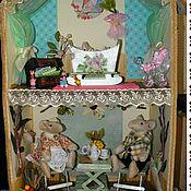 Куклы и игрушки ручной работы. Ярмарка Мастеров - ручная работа Домик с крысками. Handmade.