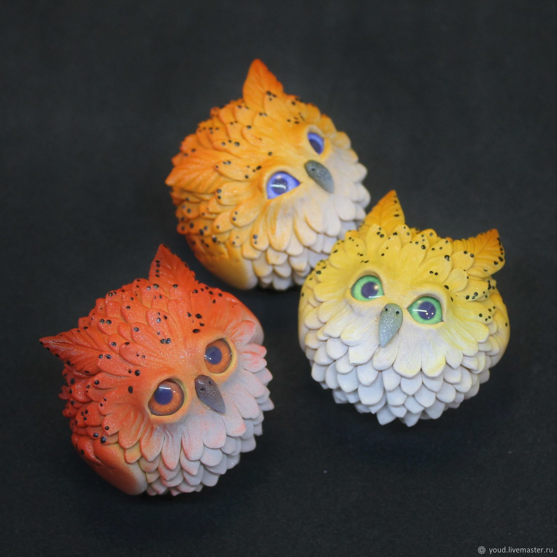 Little Owls, Miniature figurines, Permian,  Фото №1