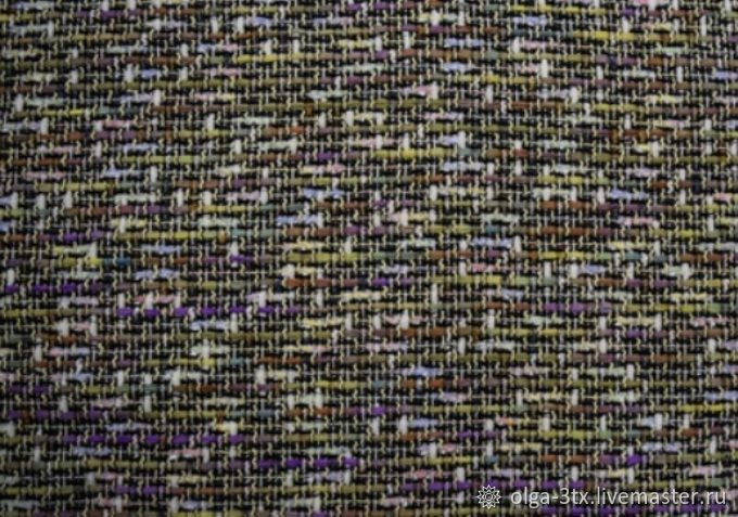 Cotton tweed, Fabric, Ramenskoye, Фото №1