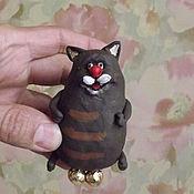 Куклы и игрушки ручной работы. Ярмарка Мастеров - ручная работа кот золотые яйца. Handmade.