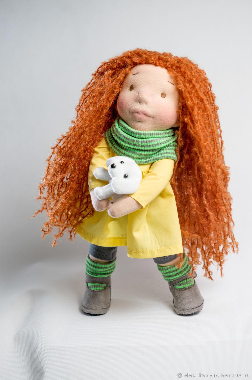 Вальдорфская текстильная кукла Адель, Вальдорфские куклы и звери, Мурманск,  Фото №1