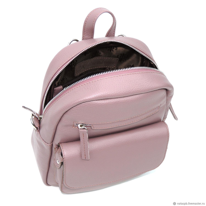 Backpack leather ladies purple Tristan. Natalia Kalinovskaya. My Livemaster. Leather 36c64c0de73b3