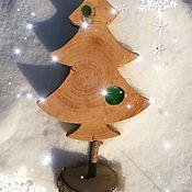 Подарки к праздникам handmade. Livemaster - original item The tree of wooden interior decorative Loft colorblock. Handmade.