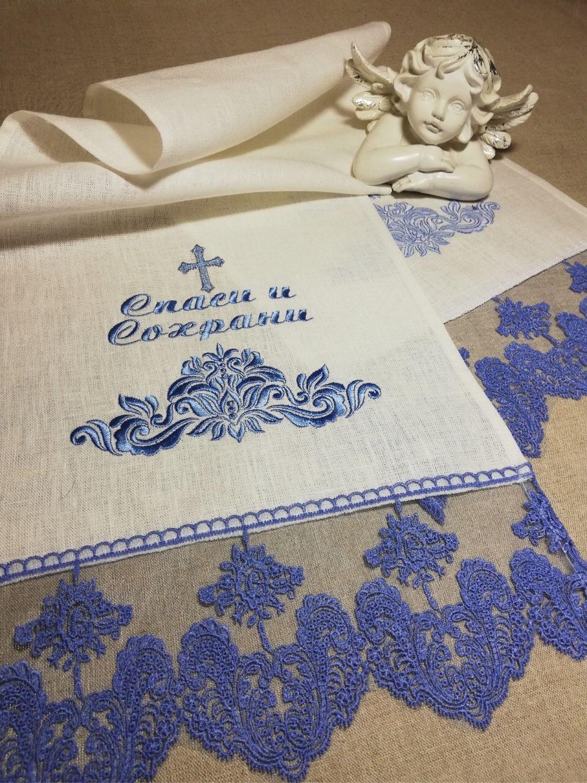 Рушник на икону на  заказ, Рушники свадебные, Москва,  Фото №1