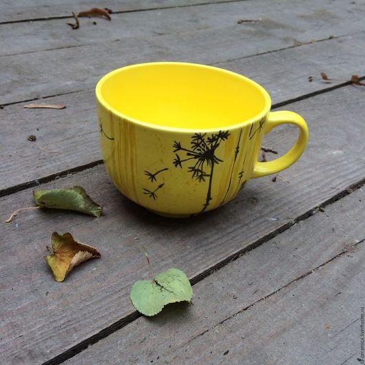 Кружки и чашки ручной работы. Ярмарка Мастеров - ручная работа. Купить Яркая кружка. Handmade. Разноцветный, посуда ручной работы