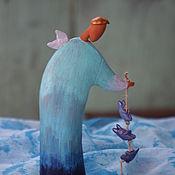 """Для дома и интерьера ручной работы. Ярмарка Мастеров - ручная работа Скульптура """"Такая работа - ангел."""". Handmade."""