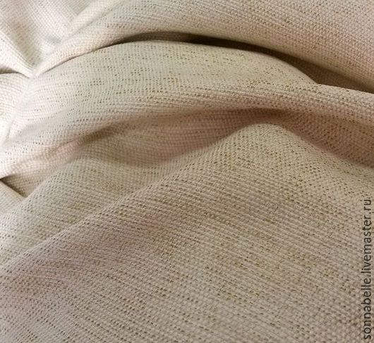 Шитье ручной работы. Ярмарка Мастеров - ручная работа. Купить Портьерная ткань под лен Меланж. Handmade. Комбинированный, лен