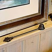 """Винтажные предметы интерьера ручной работы. Ярмарка Мастеров - ручная работа Старинный гаситель для свечей """" Подсолнух"""". Handmade."""