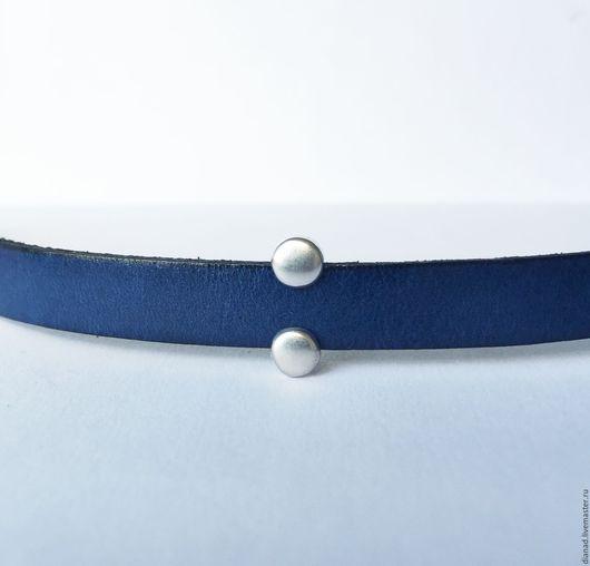 Для украшений ручной работы. Ярмарка Мастеров - ручная работа. Купить Узкая бусина для плоского шнура 10х2мм, Греция. Handmade.