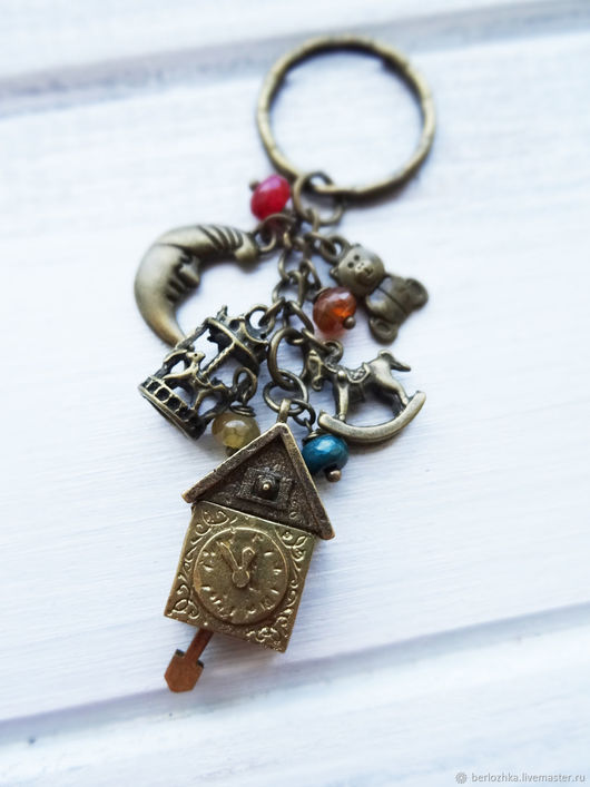 """Брелоки ручной работы. Ярмарка Мастеров - ручная работа. Купить """"Спокойной ночи, малыши"""" брелок для ключей. Handmade. Брелок для ключей"""
