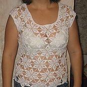 Одежда ручной работы. Ярмарка Мастеров - ручная работа Летняя блуза. Handmade.