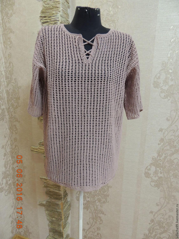 Вязаная мужская рубашка, Рубашки мужские, Ульяновск,  Фото №1