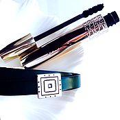 Украшения handmade. Livemaster - original item Leather bracelet in two turns - 2. Handmade.