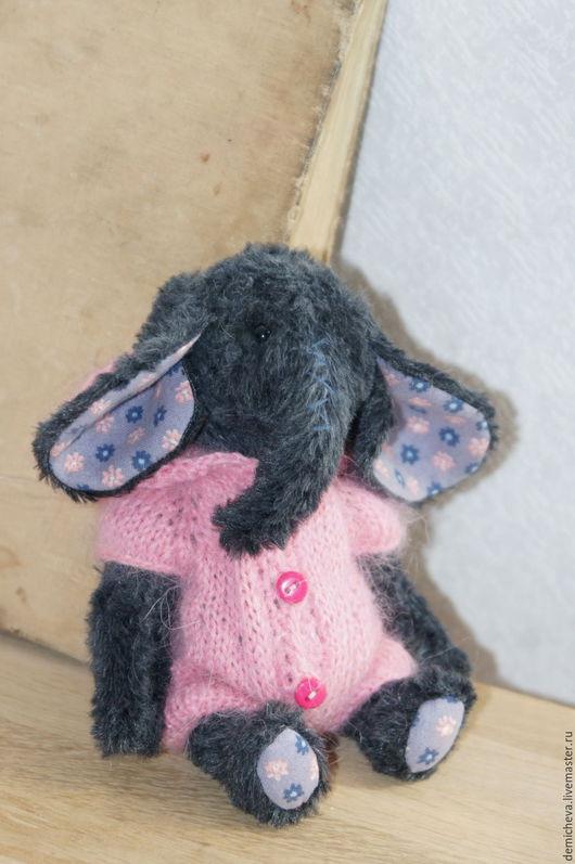 Мишки Тедди ручной работы. Ярмарка Мастеров - ручная работа. Купить Маруся. Handmade. Теддик, синий, слоненок, опилки