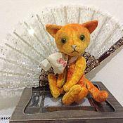 Куклы и игрушки ручной работы. Ярмарка Мастеров - ручная работа Котик тедди Алекс. Handmade.