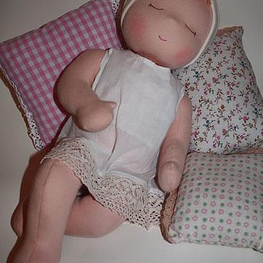 """Куклы и игрушки ручной работы. Ярмарка Мастеров - ручная работа Младенец """"Молочные сны:)"""". Handmade."""