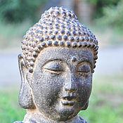 Для дома и интерьера handmade. Livemaster - original item The statue garden is a bust of Buddha for landscape design, garden decor. Handmade.