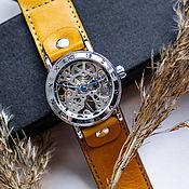 Украшения handmade. Livemaster - original item watches: Yellow Mini. Handmade.