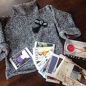 """Одежда handmade. Livemaster - original item """" N 19 """" эксклюзивный свитер - авторский дизайн. Handmade."""