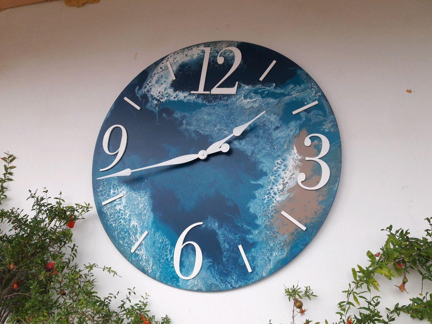 """Интерьерные часы """"Земля"""" 76см, Часы классические, Ижевск,  Фото №1"""