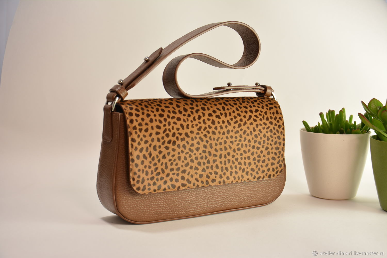 Baguette (багет) из натуральной кожи, Классическая сумка, Энгельс,  Фото №1