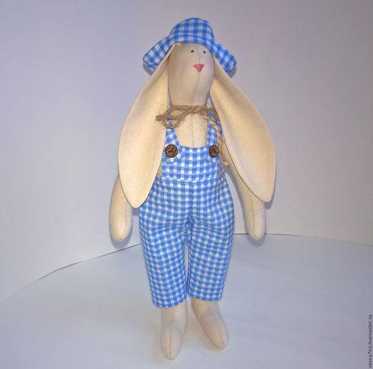 """Куклы Тильды ручной работы. Ярмарка Мастеров - ручная работа. Купить Наборы для шитья куклы:""""Кролики"""". Handmade. Кукла Тильда, лён"""