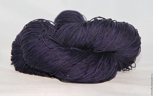 Вязание ручной работы. Ярмарка Мастеров - ручная работа. Купить Индийские шелковые нитки,  плетение шнурок - 3. Handmade. Шелк