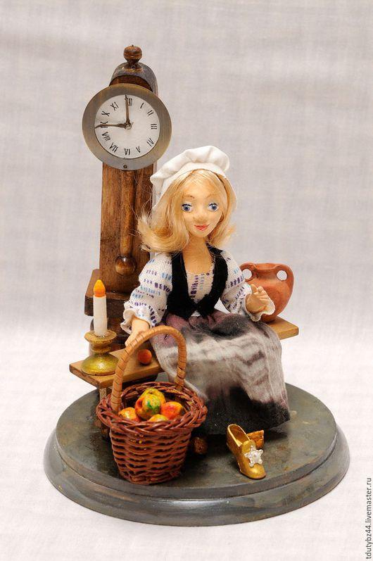 Коллекционные куклы ручной работы. Ярмарка Мастеров - ручная работа. Купить ЗОЛУШКА. Handmade. Авторская кукла, подарок кукла