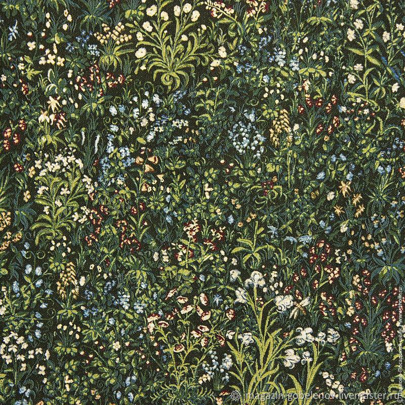 Ткани: Гобеленовая ткань «Цветочная долина» – купить на Ярмарке Мастеров – M2H5IRU | Ткани, Москва