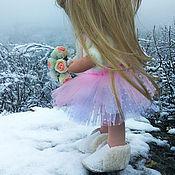 Мягкие игрушки ручной работы. Ярмарка Мастеров - ручная работа Интерьерная, текстильная кукла ручной работы Милана. Handmade.